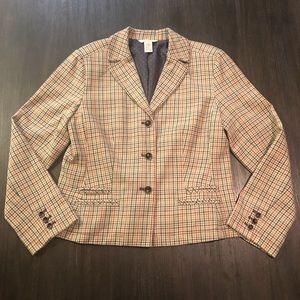 Sundance Plaid Blazer Women's Jacket